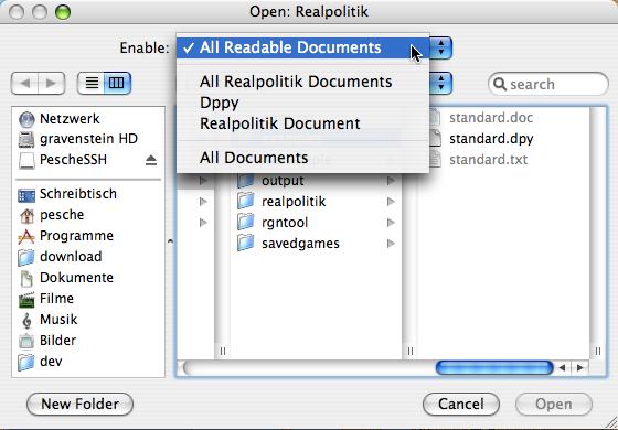 RP 170a1 Open File Dialog