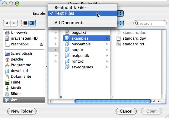 RP 170a2 Open File Dialog